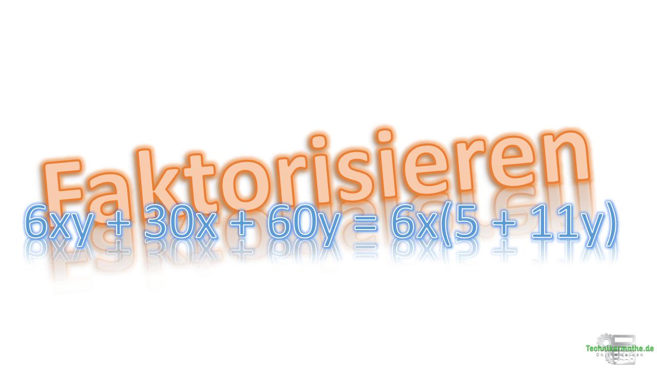 Faktorisieren, grundlagen, mathe, onlinekurs