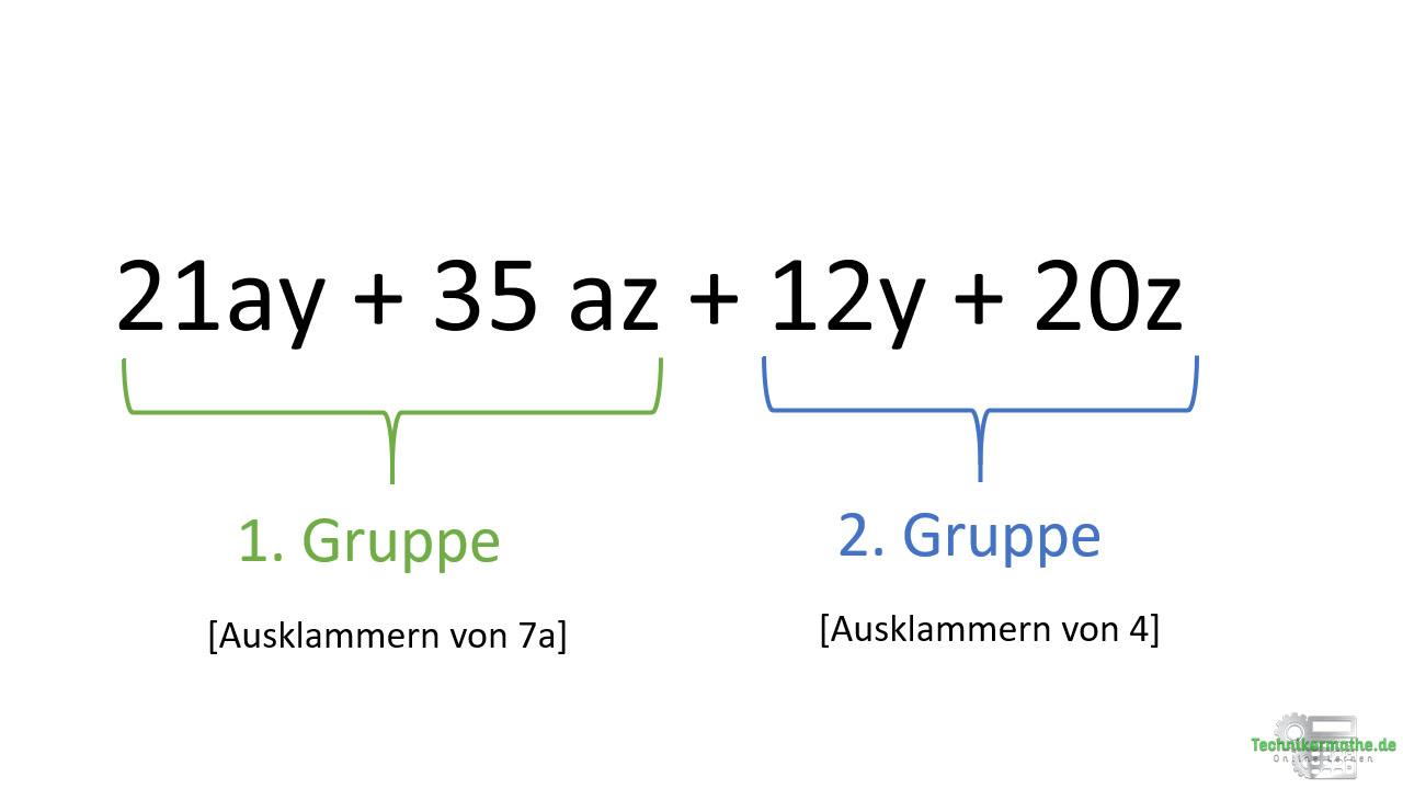 Faktorisieren, Gruppe, Techniker, Mathe