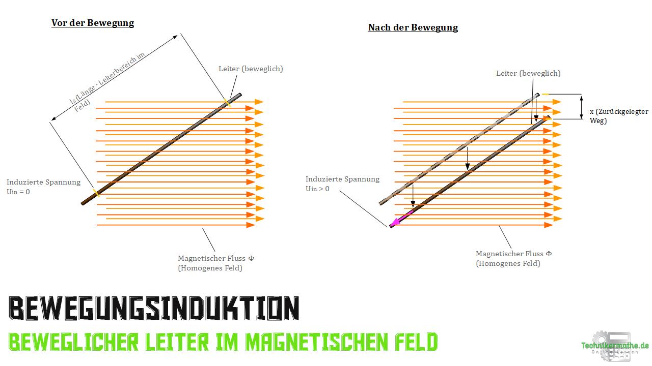Bewegungsinduktion - Ablauf