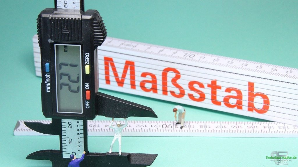 Maßstab - Basiseinheit - Länge