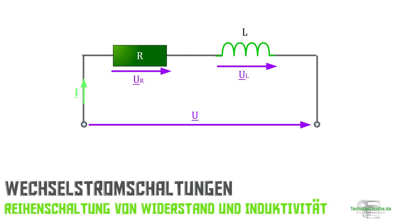 Reihenschaltung von R und L
