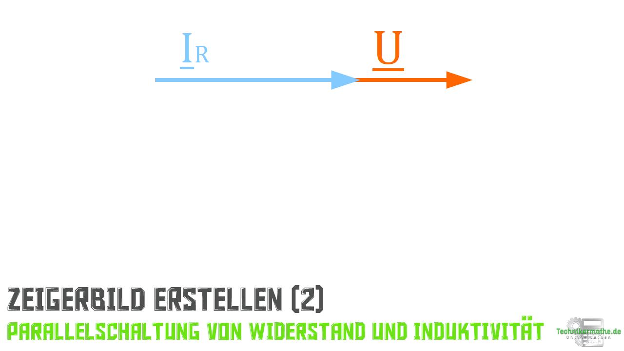 Parallelschaltung von R und L - Stromzeiger (Widestand)