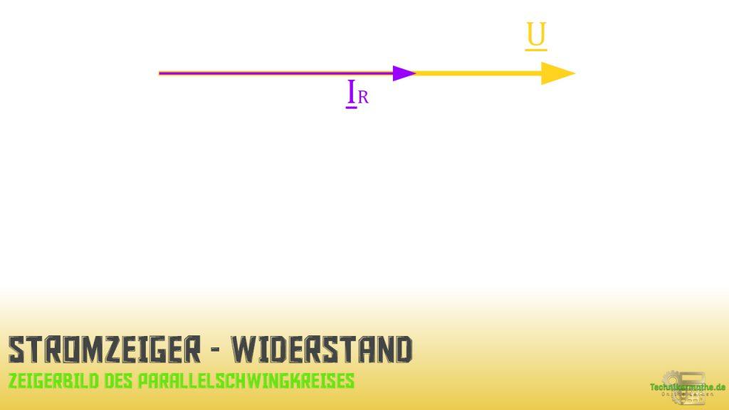 Parallelschwingkreis - Stromzeiger - Widerstand