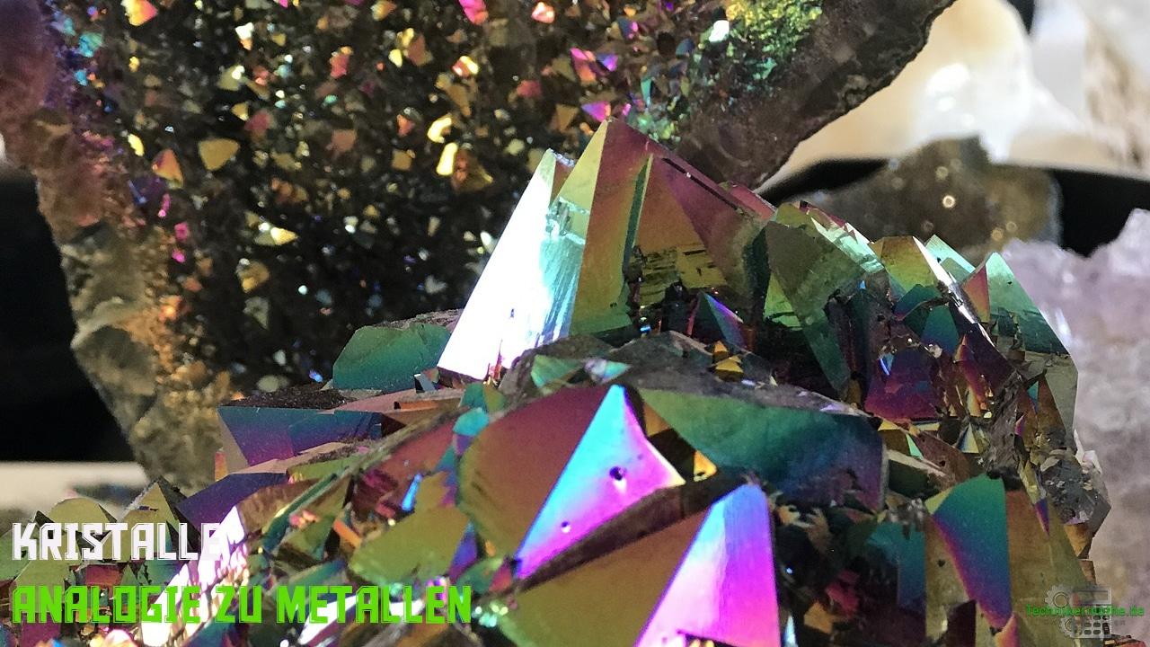 Gitterstrukturen - Kristalle - Analogie zu Metallen