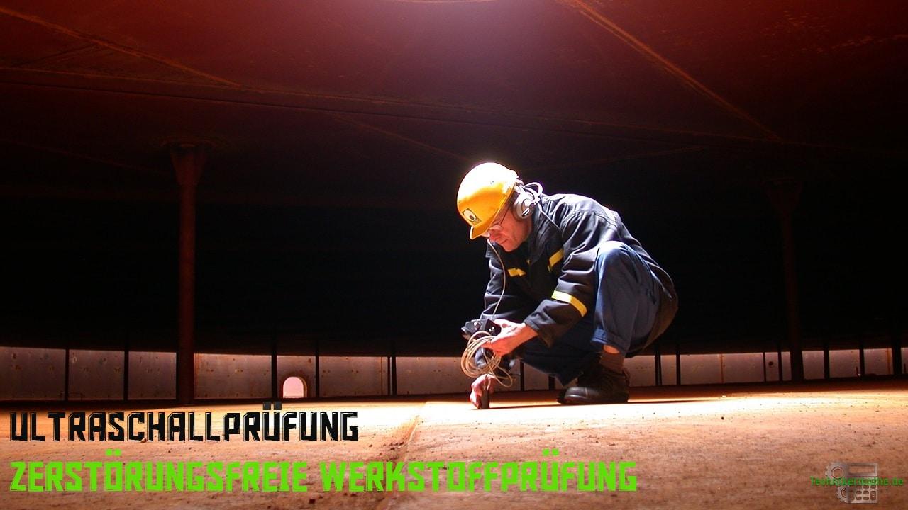 Zerstörungsfreie Werkstoffprüfung - Ultraschallprüfung (Durchstrahlungsprüfung)