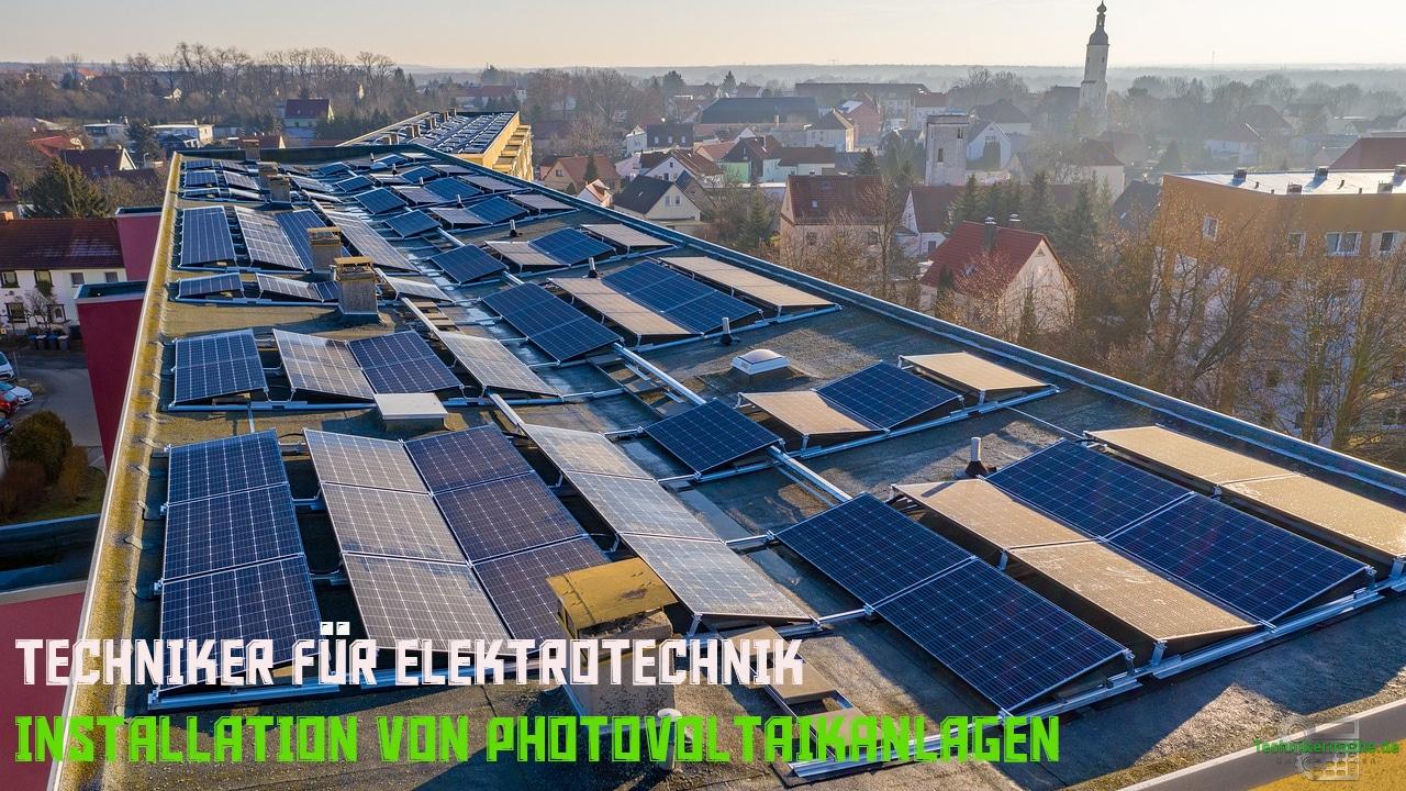 Fachkraft für Photovoltaikanlagen
