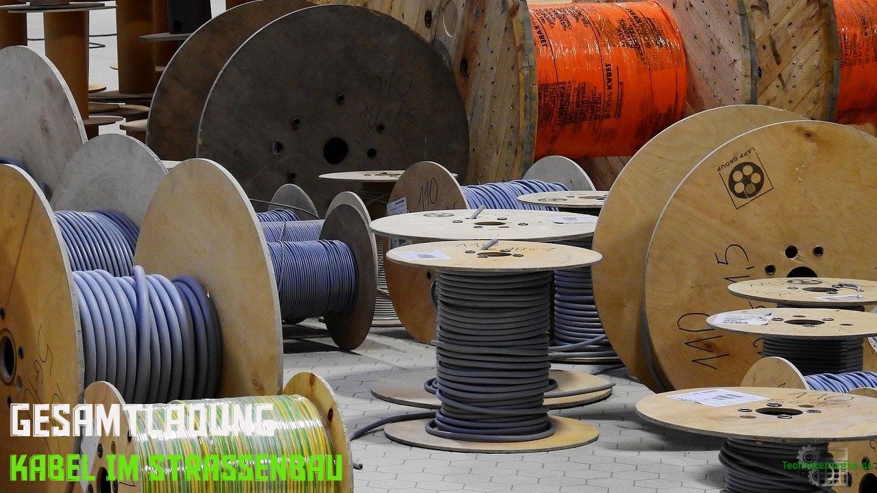 Kabel im Straßenbau