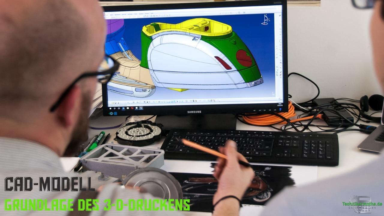 CAD-Modell - Grundlage des 3-D-Drucks